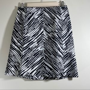 The Limited Abstract Print Skirt - #30